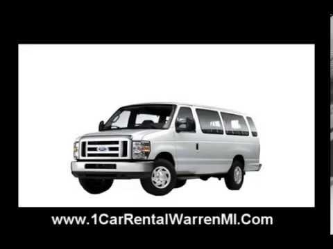 15 Passenger Van Rental, Car Rental - Detroit Airport, Michigan ...