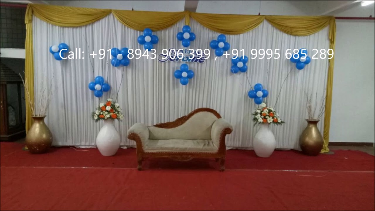 starting rs 12k onwards top budget wedding stage decorations