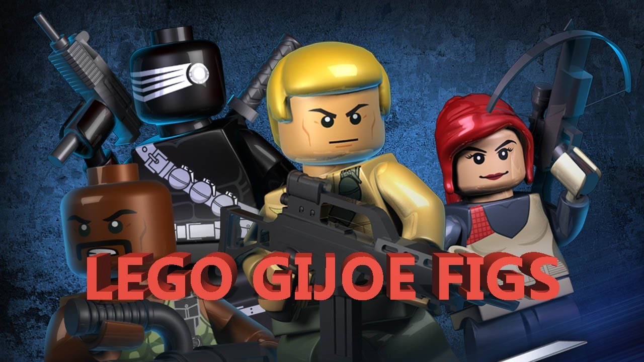 Kre-O G.I. Joe Collection 3 Mystery Minifigures Packs
