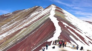 Rainbow Mountain, Peru in 4K Ultra HD