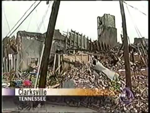 KTVU 1/22/1999 Noon News Clips - Clarksville TN Tornado & SF Car Bombing, Bay Area 90s