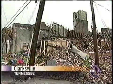 KTVU 1/22/1999 Noon News Clips - Clarksville TN Tornado & SF Car Bombing, Bay Area 90s