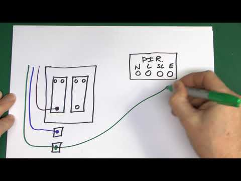 [DIAGRAM_38EU]  Lighting Sensor Wiring with Override Facility - YouTube | Security Key Light Switch Wiring Diagram |  | YouTube