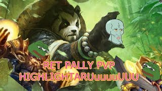 Ret Pally PvP Highlights! WoW 7.3.5
