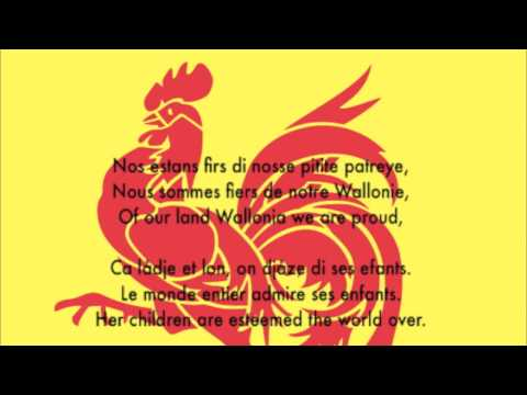 Li Tchant des Walons (Le chant des Wallons - The Song of the Walloons)