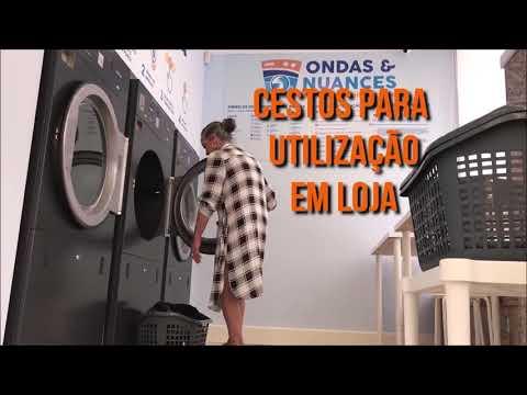 Aprenda em menos de 2 minutos a lavar e secar suas roupas em nossa Lavandaria - Ondas&Nuances-Braga