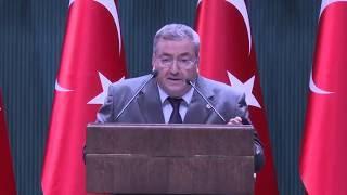 İdsb genel sekreteri av ali kurt cumhurbaşkanlığı külliyesinde konuşma yapıyor