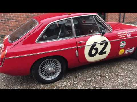 MGB GT Sebring off for an MOT