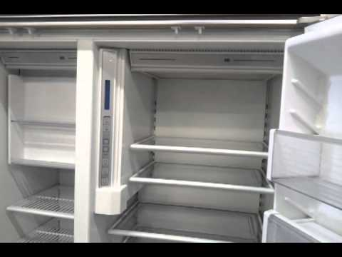 Sub Zero 42 Inch Custom Panel Refrigerator Freezer Side By Side Model 642    YouTube