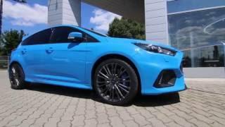 Új Ford Focus RS: minden idők leggyorsabb RS-változata
