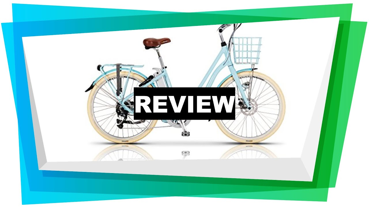 6f011c1a768 Review Volt Kensington Step Through Electric Bicycle [2018] - YouTube