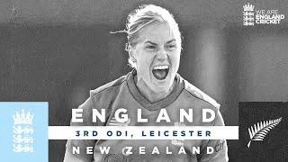 England v New Zealand - Highlights   NZ Keep Series Alive!   3rd Women's Royal London ODI 2021