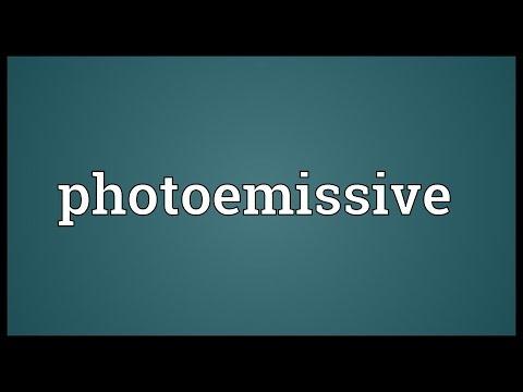 Header of photoemissive
