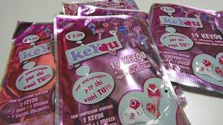 Apertura 5  bustine di Keyou di Idea Lab s.r.l. - Opening 5 blind bags