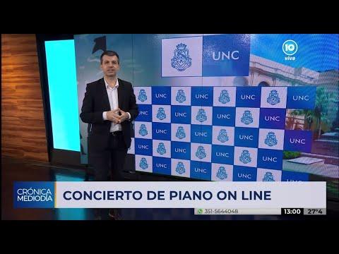 La UNC y un nuevo concierto de piano