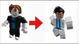 ROBLOX 2018 ROBUXSLESS CHARACTER MAKING!!!!!!!