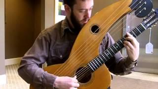 Larson Bros. Dyer Harp Guitar Style 4
