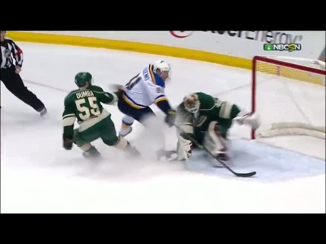 Tarasenko nets amazing one-handed goal on Dubnyk
