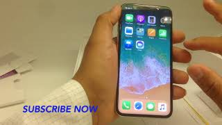WORLD'S FIRST IPHONE X UNBOXING 64GB