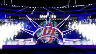WWE Wrestlemania 35 AJ Styles Eingang, Konzept, Animation