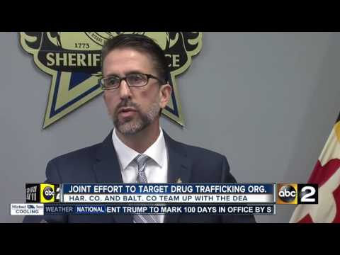 Baltimore and Harford Counties combine drug task forces