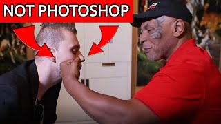 Mike Tyson HIT ME for magic!