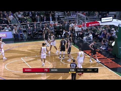 Bucks - Bucks blow out Hawks on Friday night 144-112