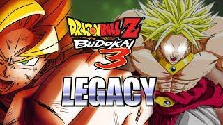 BROLY DESTROYS KAKAROT - DRAGONBALL LEGACY: Budokai 3 (PS2 2004)