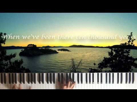 Amazing Grace (Piano with Lyrics)