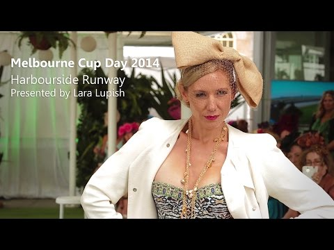 Melbourne Cup 2014 Fashion Runway  presented by Lara Lupish
