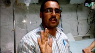 فيديو  وصورـ سامي ملاك دخل لإجراء عملية بالأنف..فكسرت جمجمته وفقد بصره
