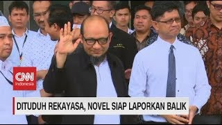 Dituduh Rekayasa, Novel Siap Laporkan Balik Dewi Tanjung