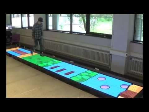 Interactive Games for Gait Rehabiliation (public version)