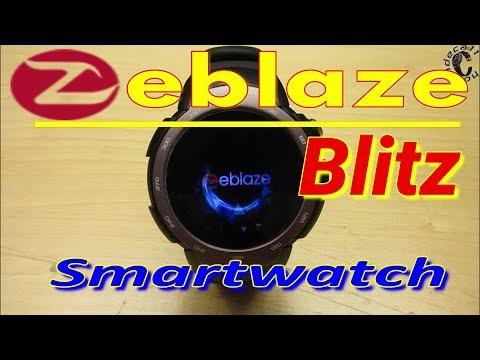 Zeblaze Blitz 3G Smartwatch,AnTuTu Test,Waterproof IP67 Test,Phone Connection