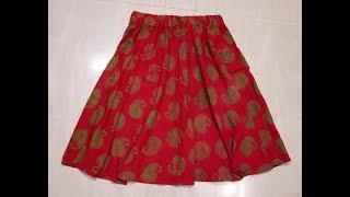 कुर्ते  से अम्ब्रेला स्कर्ट  बनाने का सबसे सही तरीका/Convert Old Kurta Into Skirt Umbrella Skirt