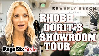 Inside RHOBH Star Dorit Kemsley's Beverly Beach Showroom | Page Six Style