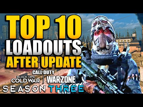 Top 10 Loadouts & Class Setups in WARZONE After AMAX Nerf & Optic Change