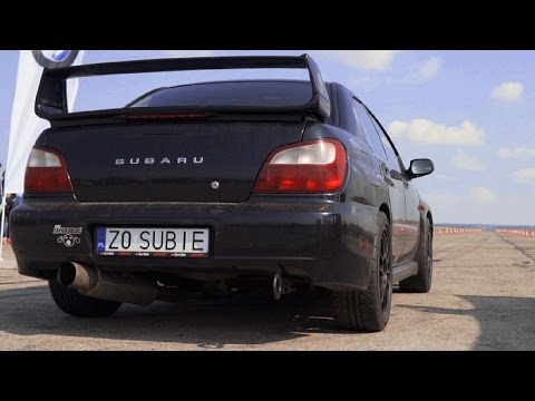 Subaru WRX STI Turbo Bugeye Acceleration Sound - YouTube