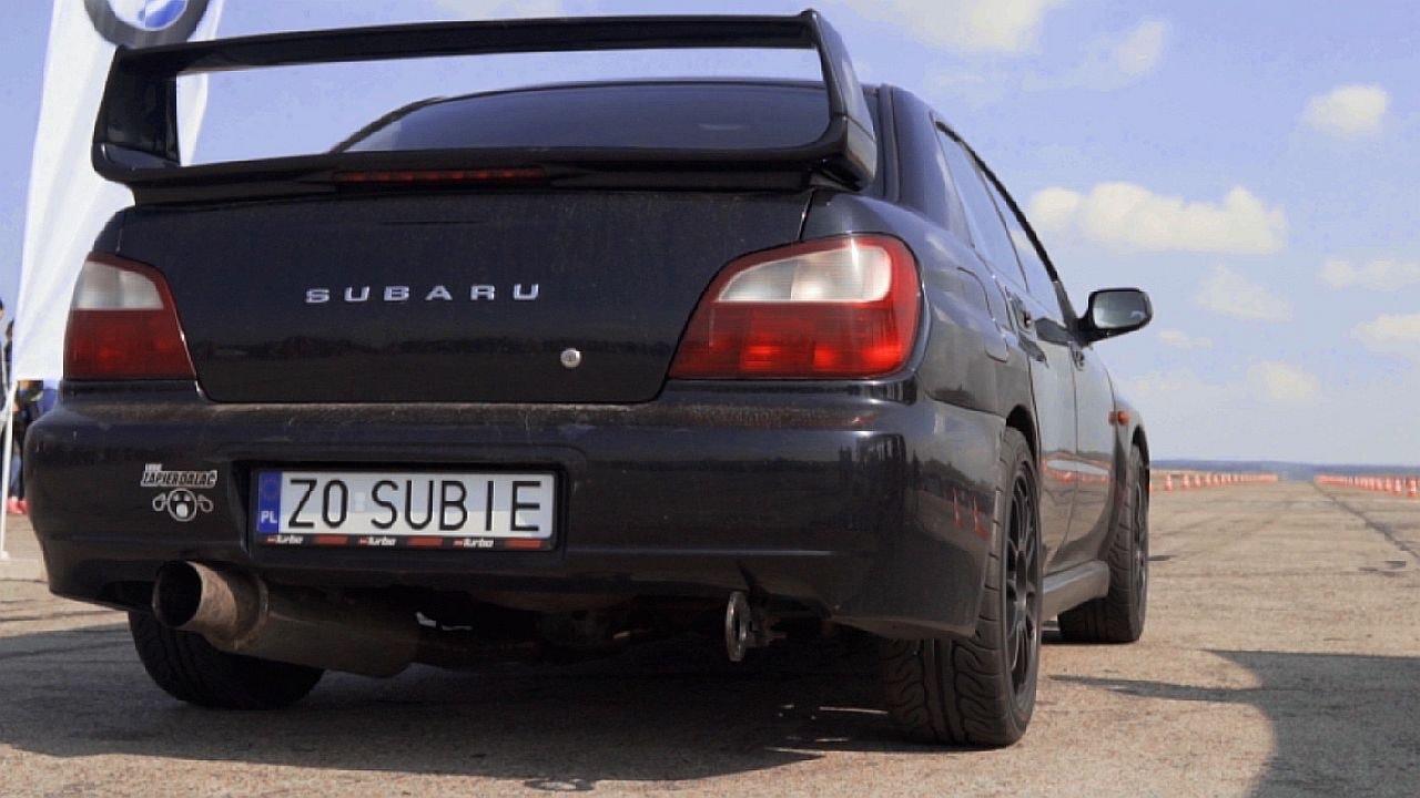 Subaru WRX STI Turbo Bugeye Acceleration Sound