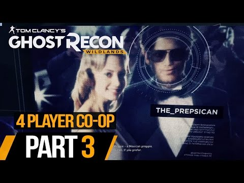 Ghost Recon Wildlands (Hindi) 4 Player Co-Op Campaign #3: Locate Carzita (PS4 Gameplay)