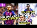 Vidal s impact as cam analyzing dembele s growth the tactical show podcast bugaluis mp3