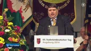 Posselt fordert Aufhebung der Beneschdekrete - Sudetendeutscher Tag 2014
