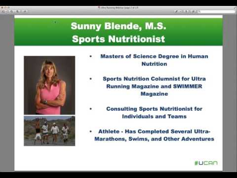 Fueling for Ultra Running with Sports Nutritionist Sunny Blende, M.S.