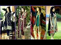 Latest Party Wear Dress Designs | Long Front Open Double Shirt Dresses Designs| Slit Kurti Designs