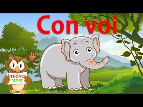 Dạy bé học tiếng việt qua động vật | nhận biết các con vật và tập nói sớm| dạy trẻ thông minh sớm 9