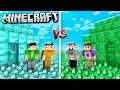 DIAMOND HOUSE vs. EMERALD HOUSE CHALLENGE! (The Pals Minecraft)