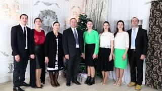 Поздравление семьи Кирнев с Рождеством и Новым 2017 Годом  HD new