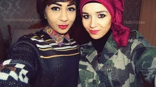 Nabiilabee & fashionbeautyfame collab vloggy & OOTD