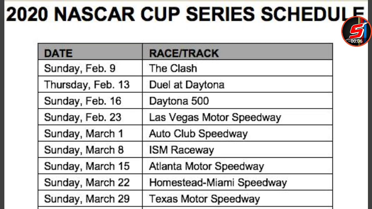 It is an image of Persnickety Printable Nascar Schedules