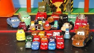 Pixar Cars 18 Surprise Eggs with Lightning McQueen Micro Drifters The Haulers and more